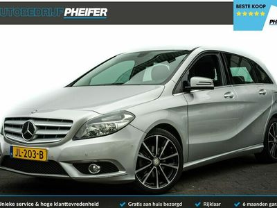 tweedehands Mercedes B200 Aut. 156pk Ambition Stoelverwarming/ Cruise control/ Pdc v+a/ Tel. bluetooth/ Apk t/m 10-2022