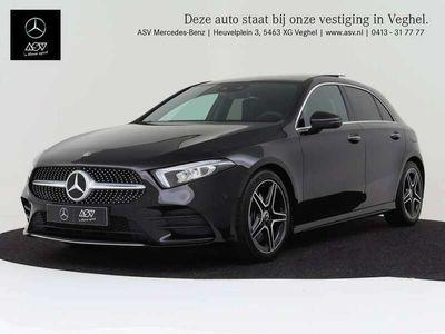 tweedehands Mercedes A250 Premium AMG-Line automaat Panoramadak, wegklapbare..