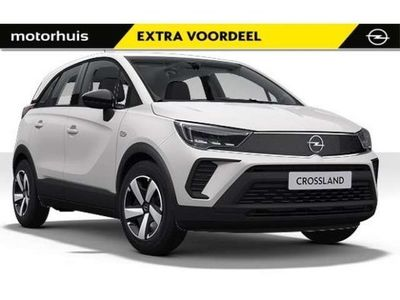 tweedehands Opel Crossland X 1.2i-12V 83 Pk Edition *PRIVATE LEASE KN