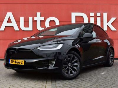 tweedehands Tesla Model X 75D Base 7p. Incl. BTW   4% Bijtelling   Carbon  