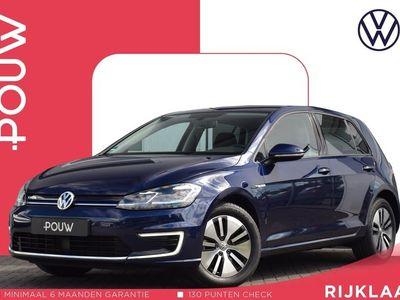 tweedehands VW e-Golf 136pk AUT € 24.750,- EXCL. BTW + Warmtepomp + Navigatie