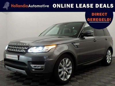 tweedehands Land Rover Range Rover Sport 3.0 TDV6 260pk HSE (leer,navi,camera,LED,keyless)