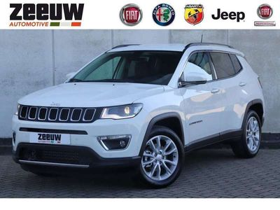 tweedehands Jeep Compass 1.3 Turbo 150 PK DDCT Limited Leder Apple Carplay Xenon 18""