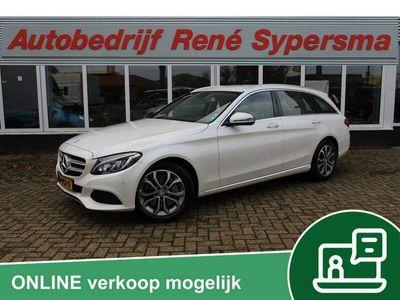 tweedehands Mercedes C350 Estate e Lease Edition Burmester/Leer/Camera/Stoel