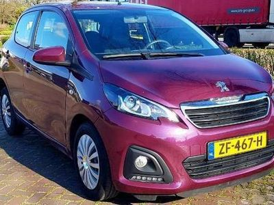 tweedehands Peugeot 108 1.0 e-VTi Active NAP/BLUETOOTH/LED/ELEKTR.RAMEN!!