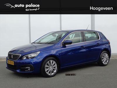 tweedehands Peugeot 308 CC 1.2 110 PK ALLURE   E  NAVIGATIE   RADIO-BLUETOOTH   LM-VELGEM   PDC VOOR EN ACHTER  