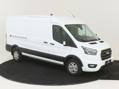 tweedehands Ford Transit 350L 185PK FWD L3H2 DC LIMITED AUTOMAAT Nr. 503828 XENON AIRCO NAVIGATIE CAMERA ADAPTIVE CRUISE CONTROL TREKHAAK 3500KG GVW DUBBELE CABINE