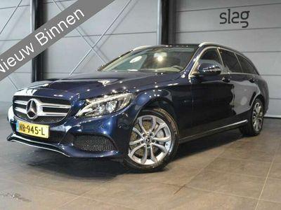 tweedehands Mercedes C350 Estate e Lease Edition excl btw navi camera led !!