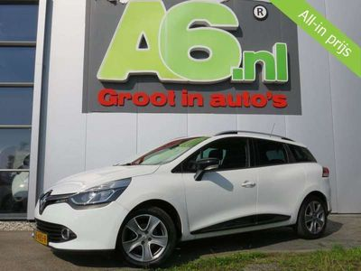 tweedehands Renault Clio - Estate 1.5 dCi ECO Night&Day Navi Airco Bluetooth PDC Cru ise Έlectric Ramen
