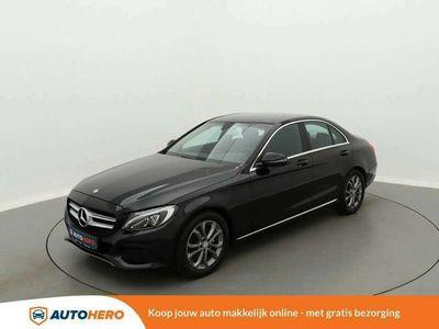 tweedehands Mercedes C160 Ambition TK14939 | Navi | Trekhaak | LED | Parkeer