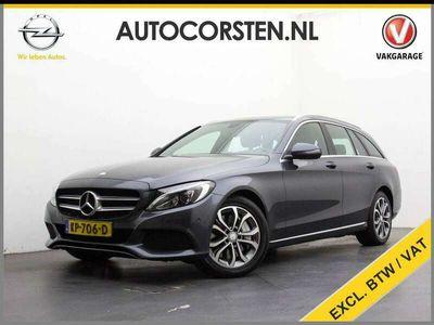 "tweedehands Mercedes C350 Estate 350e (Ex. Btw) 1/2Leder Navi Ecc Pdc 17""LM"