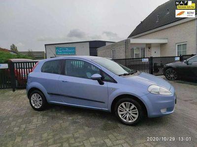 tweedehands Fiat Grande Punto Punto 1.4 8v Edizione Blue & Me
