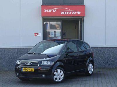 tweedehands Audi A2 1.4 TDI Airco APK 12-2021 Zwart 2001
