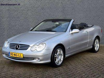 tweedehands Mercedes CLK240 Cabriolet Elegance Automaat AMG