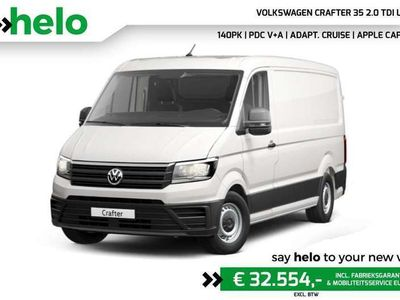 tweedehands VW Crafter 35 2.0 TDI L3H3 / Camera / ACC / PDC V+A / Apple C