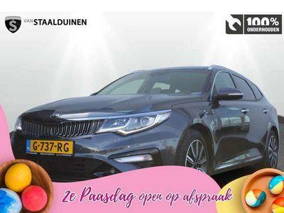 tweedehands Kia Optima Sportswagon 1.6 T-GDI DynamicPlusLine Navigatie -