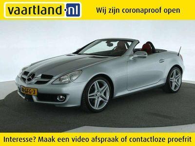 tweedehands Mercedes SLK280 V6 Prestige Plus ORIG. NL [ leder navi airscarf ]