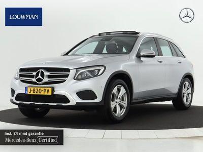 tweedehands Mercedes 250 GLC-KLASSE4MATIC Luchtvering Luchtvering | Panoramadak | Navigatie | Lederen Bekleding | Ledkoplampen | Stoelverwarming |Achteruitrij camera | Cruisecontrol | CD-speler Inclusief 24 MB Premium Certified garantie voor Europa.