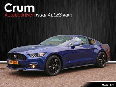 tweedehands Ford Custom Mustang Fastback 2.3 317pk *Pack * Premium Audio * Navigation Pack * incl. winterset op zwarte velgen!!