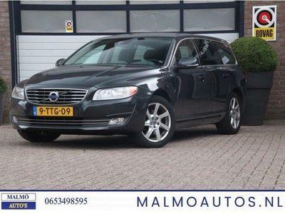 tweedehands Volvo V70 2.0 D4 Nordic+, EURO 6. LEDER + AUT. ACHTERKLEP