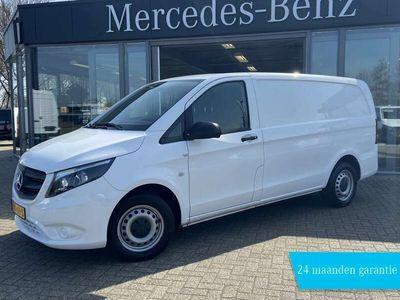 tweedehands Mercedes Vito 114 CDI L2H1 136PK GB EUR6 WHITE EDITION | AIRCO,