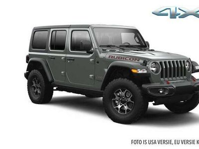 tweedehands Jeep Wrangler Jan Hop 4XE RUBICON stingray kap&fenders zwart