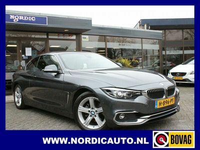 tweedehands BMW 420 4-SERIE Cabrio i HIGH EXE EDITION AUTOMAAT NL AUTO-SLECHTS 26030 KM !!