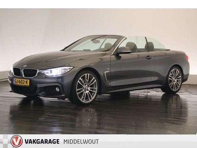"tweedehands BMW 428 4 Serie Cabrio i High Executive Sportaut8/ M-PAKKET/Nekverw/19"""