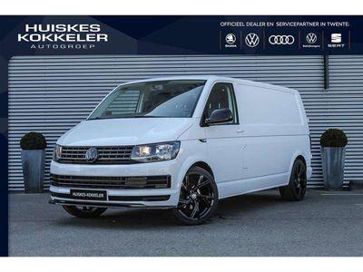 tweedehands VW Transporter Bestelwagen T6 2.0 TDI 150PK DSG L2H1 HK-Exclusive/AIRCO/BETIMMERING/VERLAGINGSSET/ 20'' LMV
