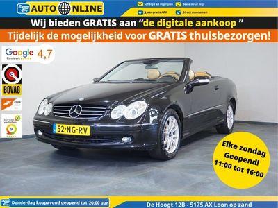 tweedehands Mercedes 320 CLK-klasse CabrioElegance CLIMA navi APK nieuw