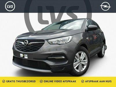 tweedehands Opel Grandland X 1.2 Turbo AUT Elegance - NAVI - AIRCO - EYE - LM VELGEN - CAMERA - NIEUWE AUTO