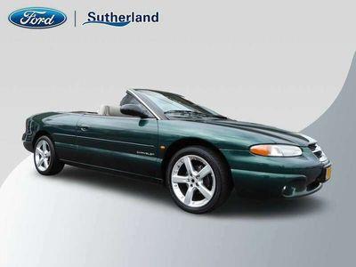 tweedehands Chrysler Stratus 2.5i V6 LX CONVERTIBLE ** NL-AUTO / APK 17 MAART 2