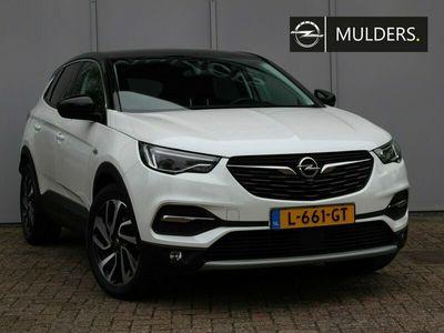 tweedehands Opel Grandland X 1.2 Turbo Ultimate | RIJKLAARPRIJS | Navi / Leder / LED / 19inch