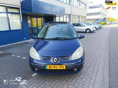tweedehands Renault Grand Scénic 1.6-16V Privilège Luxe((( 7- PERSOONS. nieuwe apk)