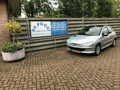 tweedehands Peugeot 206 1.4 Air-line ECC.PANODAK.TREKHAAK
