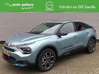 tweedehands Citroën C4 New EV 50kWh 136pk Shine VOLLEDIG Έlectric   DEMO   LEDER   HEAD UP   NIEUW MODEL  