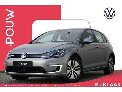 tweedehands VW e-Golf 136pk AUT € 25.289- Incl. BTW + LED Plus Koplampen + Navigatie Discover Pro
