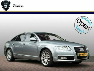 tweedehands Audi A6 3.0 TFSI quattro Pro Line Bose Navi Leer Xenon 290PK Trekhaak Cruise! Hemelvaartsdag open!