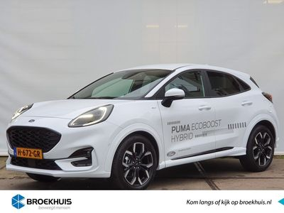 tweedehands Ford Puma 1.0 125 PK EcoBoost Hybrid ST-Line X First Edition | Full LED | Elektrische achterklep | Winterpack | BLIS | Adaptive cruise | Compleet!