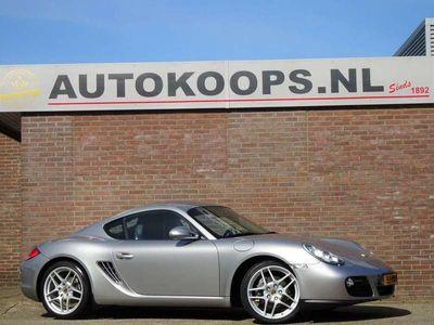 tweedehands Porsche Cayman 2.9 265 Pk H6 | NL Auto | Climatronic | Cruise | Navigatie full-map | zwart-leder | Stoelverwarming | Bi- Xenon | PDC | 19LMV |