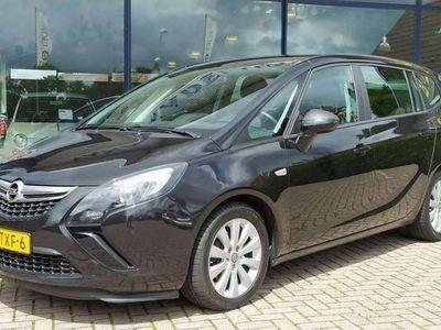 tweedehands Opel Zafira Tourer 1.4 Edition Airco Navi Lm-Velgen Trekhaak NL-Auto