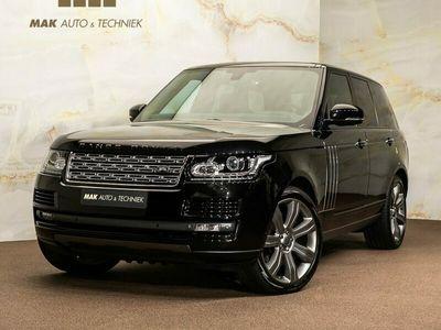 "tweedehands Land Rover Range Rover 4.4 SDV8 Autobiography Black, pano, Meridian, 360° -camera, bi-xenon, 22"", NP222k"