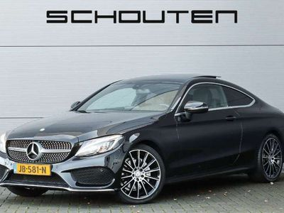"""tweedehands Mercedes C180 Coupé Ambition AMG Pano Led Camera 19"""""""