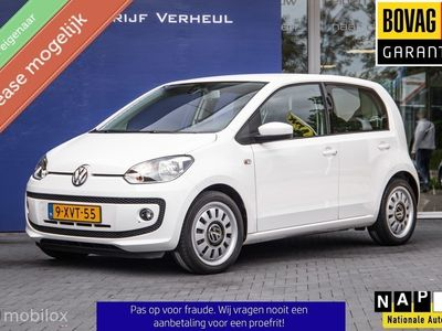 tweedehands VW up! UP! 1.0 highBlueMotion 5Drs Navi Airco Cruise Parkeersensor Nap Boekjes