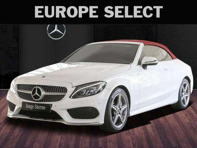 tweedehands Mercedes C400 Cabriolet 4MATIC AMG Burm. Comand Leer fabr garant