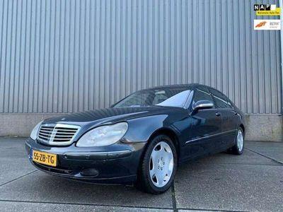 tweedehands Mercedes S600 Lang aut, Schuifdak, Alcantara, Navi