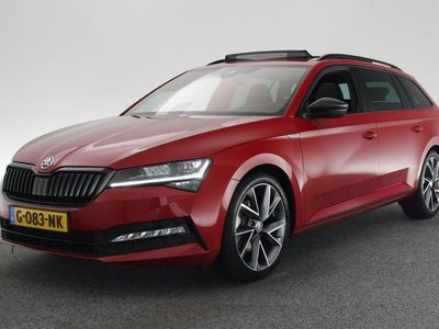 "tweedehands Skoda Superb Combi 1.5 TSI Sportline Business 19"" LMV / FULL-LED / NAVI / PANO / ELEKT KLEP / ADAPTIVE CRUISE"