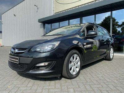 tweedehands Opel Astra Sports Tourer 1.4 Turbo Edition automaat airco