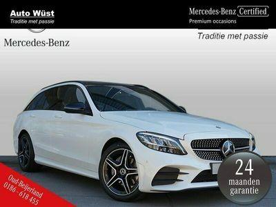 tweedehands Mercedes 180 C-KLASSE EstateBusiness Solution AMG | Panaroma-schuifdak | Achteruitrijcamera | Dodehoek-assistent |
