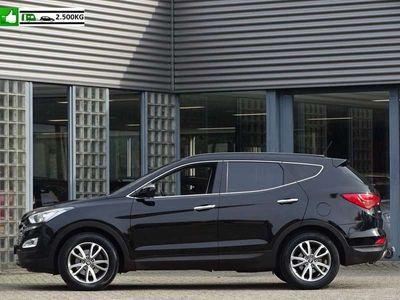 tweedehands Hyundai Santa Fe 2.2 CRDi i-VISION LEER NAVI TREKHAAK